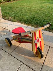Dreirad aus Holz zu Verkaufen