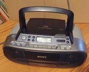 Sony CD Radio CFD-S01 - Baustellenradio