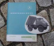 Betriebsanleitung Unimog 403 406 416