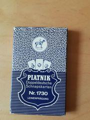 Piatnik - Doppeldeutsche Schnapskarten