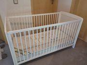 Babybett umbaubar zu Kinderbett