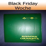 Originale Romme Canasta Karten Black