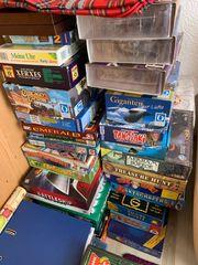diverse Brettspiele Spielesammlung für je