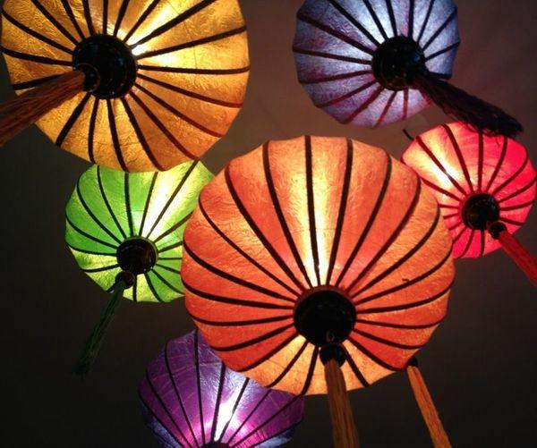 Vietnamesische Laterne Vietnam Lampion Lampe