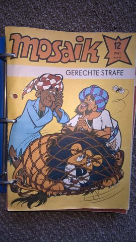 Comics, Science fiction, Fantasy, Abenteuer, Krimis, Western - umfangreiche Abrafaxe Mosaik Sammlung zu