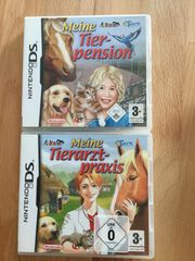 2 Nintendo DS Spiele Tiere