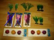 Aquarium Pflanzen kunst Pflanzen Wasserpflanzen
