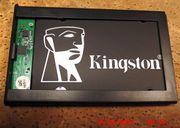 512 GB Kingston-SSD-Festplatte mit Digitus-Gehäuse