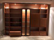 Wohnzimmermöbel Vitrine Sideboard mit Beleuchtung