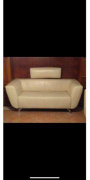 Edles Sofa Couch Echleder weiß