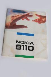 Bedienungsanleitung Nokia 8110 original 1996