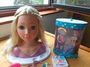 Puppe Schminkpuppe plus Zubehör - Spielzeug