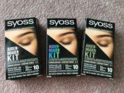 Augenbrauen Kit zum Färben in