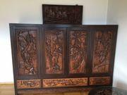 Asiatische Möbel - handgeschnitzt