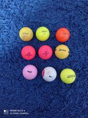 9 Golfbälle