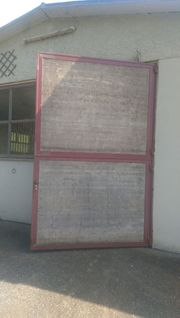 Tor Tür Fensterrahmen Pferdestall