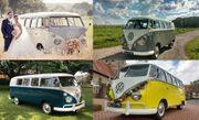 Hochzeitsbulli Oldtimer Volkswagen bus Mieten