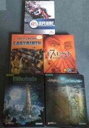 5 Spiele- Lern CD-ROMs