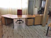 WINI Büroeinrichtung Schreibtisch 2x Rollcontainer