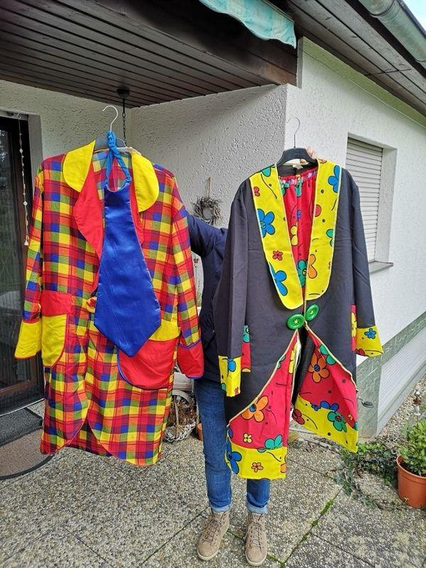 verschiedene Faschingskostüme Karnevalskostüme und viel