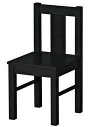 4 IKEA Kritter Kinderstühle Holz