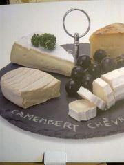 Käse oder Wurstplatte Schiefer