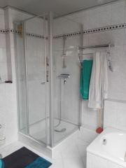 Zu Verschenken Echtglas-Duschkabine 90 x