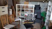 Teppiche Stühle Tische Werkzeug