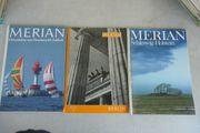 viele viele MERIAN - 3 Merian-Hefte