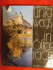 antikes Buch Unterwegs in Österreich
