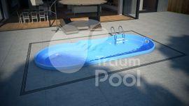 GFK Schwimmbecken Pool 6 4: Kleinanzeigen aus Poznan - Rubrik Sonstiges für den Garten, Balkon, Terrasse