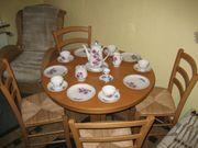 Esszimmertisch 4 Stühle Wohnungsauflösung