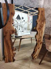 Spiegel Aus Massivholz Sehr Selten