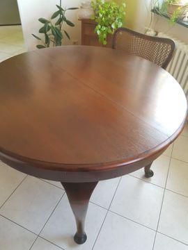 Sehr schöner antiker Tisch massiv: Kleinanzeigen aus Ludwigshafen Maudach - Rubrik Sonstige Antiquitäten