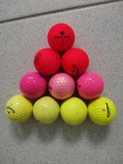 10 gebrauchte Golfbälle incl Versand