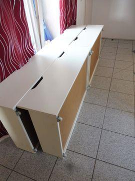 Schönes weißes Echtholzbett: Kleinanzeigen aus Hemsbach - Rubrik Betten