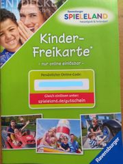 Tageskarte Freikarte Ravensburger Spieleland
