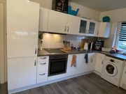 Einbauküche weiß-glänzend inkl Elektrogeräte