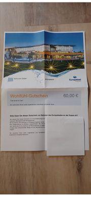 Wohlfühl-Gutschein Europabad Karlsruhe