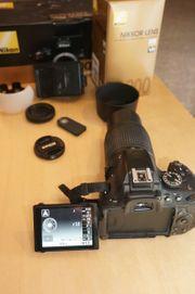 Nikon D5100 mit 55-200mm Objektiv