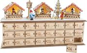 Adventskalender aus Holz