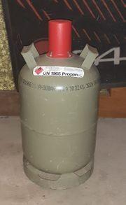 Propangasflasche Stahl 11kg mit wenig