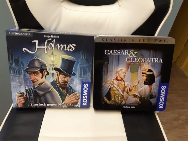 Holmes Caesar Cleaopatra Kosmos Brettspiel