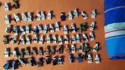 Lego Starwars und Minecraftfiguren
