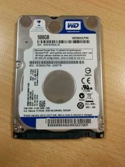 2 5 500GB Notebook Festplatte -