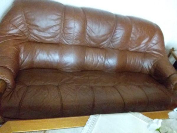 Ledercouch Braun In Mühlheim Polster Sessel Couch Kaufen