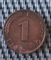 Verkaufe ein Pfennig Münze