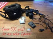Canon EOS 400D Spiegelreflexkamera - Set