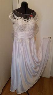 Hochzeitkleid Gr 44 weiß