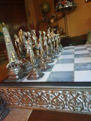 Schachspiel von Giuseppe Vasari Bronze
